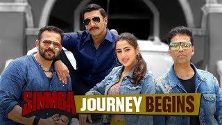 Simmba Journey Begins | Ranveer Singh | Sara Ali Khan | Rohit Shetty | December 28