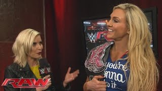 Charlotte sends a message to her new challenger: Raw, November 2, 2015