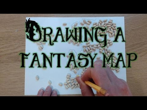 Drawing a Fantasy Map (part 1)