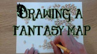 Drawing a Fantasy Map (part 1)