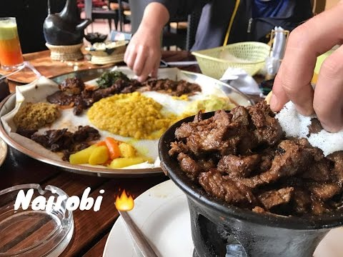 Nairobi Foodporn 🔥  Full HD iPhone 7 Plus @ Habesha Ethiopian food restaurant in Kenya