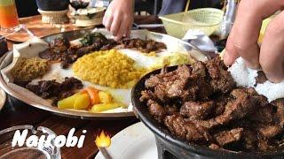 Nairobi Foodporn 🔥  Full HD iPhone 7 Plus @ Habesha Ethiopian food restaurant in Kenya