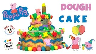 Peppa Pig Dough Cake