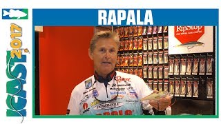 New Rapala Colors - Super Shad Rap and Skitter V with Bernie Schultz | ICAST 2017
