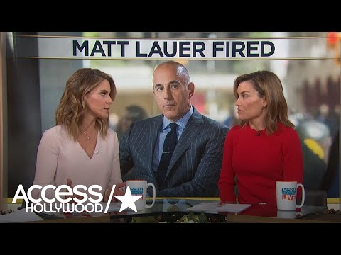 Natalie Morales Addresses Former 'Today' CoWorker Matt Lauer's Firing: 'I Am In Shock'
