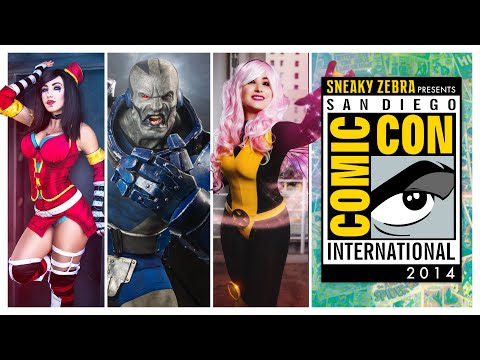 SDCC San Diego Comic Con - Cosplay Music Video  2014