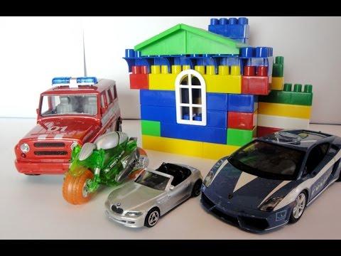 Развивающий мультик про игрушечные машинки - Спички детям ...