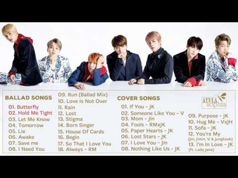 BTS (방탄소년단) Ballad & Cover Songs || Best Song Of BTS pt.6 (updated 1/2016)