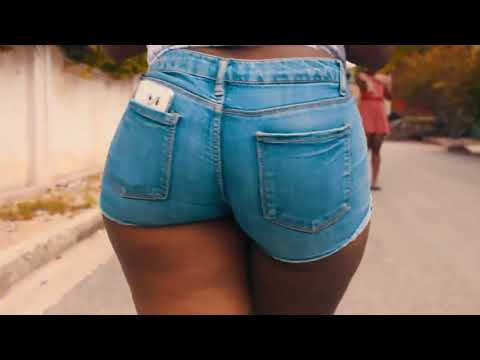 Hot Big Ass In Tight Short Jeans