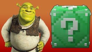 Minecraft Lucky Boss - Shrek ile Kapıştım