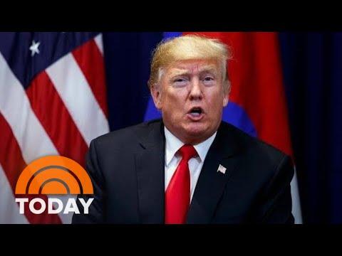 President Donald Trump Attacks Democrats, Brett Kavanaugh Accuser Ahead Of Hearings | TODAY