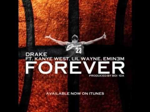 Forever (Clean/Lyrics) - Drake. Kanye West. Lil Wayne. Eminem.