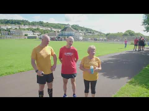 Scarlets Rugby Family Affairs with parkrun UK and Intersport UK