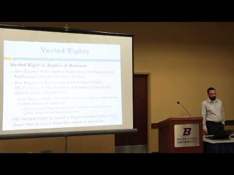 Onsite Wastewater Association of Idaho TGM Updates 2014