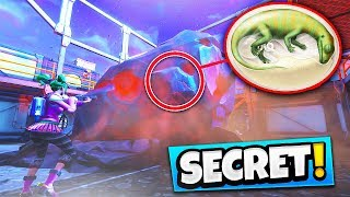 "*NEW* SECRET ""Dinosaur Egg"" FOUND in Fortnite Battle Royale Season 4 (Fortnite Secret easter eggs)"
