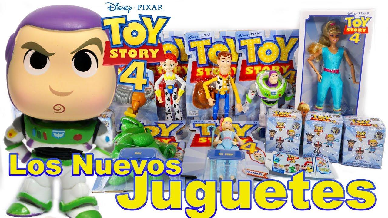 Abriendo Los Nuevos Juguetes De Toy Story 4 Y Mini Figuras