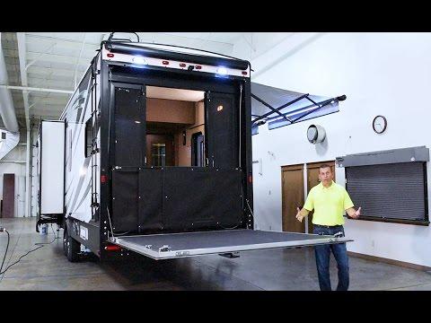 Patio Life 365 Patio Garage Door Solution For Toy Haule