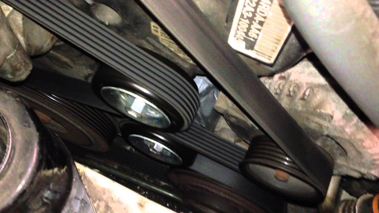 Acura TL Belt Tensioner Noise YouTube - 2004 acura tl alternator