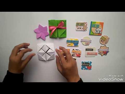 Scrapbook cards|DIY CRAFTS (Explosion Box Props )(Paper Napkin Fold)