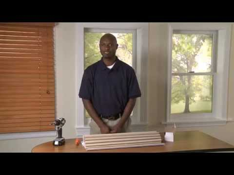How to Install Inside Mounted Soft Roman Shades