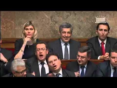 Echange Vif entre Henri Guaino et Jean Marc Ayrault sur la politique gouvernementale