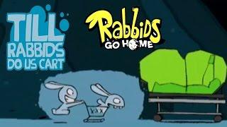 #27 Rabbids Go Home - Till Rabbids Do Us Cart - Video Game - kids movie - Gameplay - Videospiel