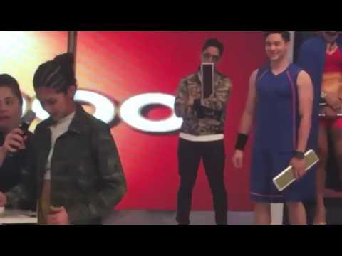 Alden Richards and Maine Mendoza Mag Jowang Seloso at Selosa😄😍✌💓
