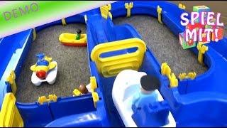 Wasserbahn von BIG niagara waterplay  DEMO review water toy - spielen mit Wasser Spielzeug