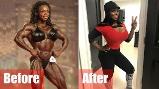 What happens when female bodybuilders retire?
