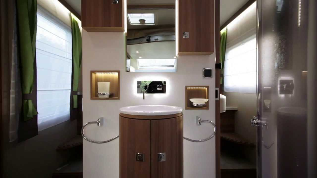 Titanium 728eb camping car chausson s rie limit e limited edition 2014 youtube - Salle de bain chausson ...