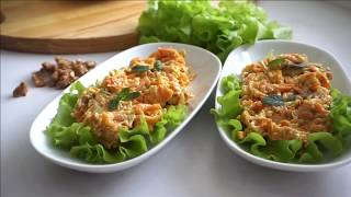Супер закуска из Моркови и Кабачка. Вкуснейшая закуска из простых продуктов по-Турецки.
