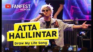 [HD] Atta Halilintar - Draw My Life Song  (Live at YOUTUBE FANFEST SHOWCASE Yogyakara 2018)