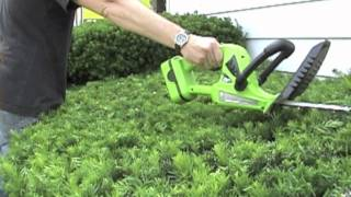 GardenersEdge.com and the EWLHT Earthwise Hedge Trimmer