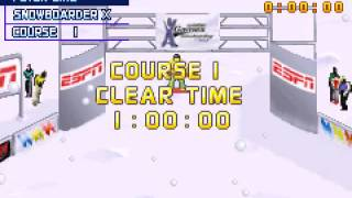 [Game Boy Advance] ESPN Winter X-Games Snowboarding 2002 - Version Etats-Unis