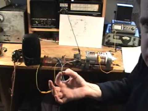 Crystal Radio with Fool's Gold for Detector