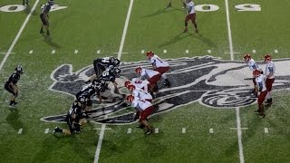 Muleshoe Mules vs. Sweetwater Mustangs Football September 5, 2014