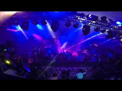 DJ Christy Million @ Ultra Violet Music Festival (UVMF), India 03.08.2014