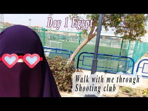 Walk With Me Through Shooting Club, Egypt | Cairo-Egypt vlog, Random facts