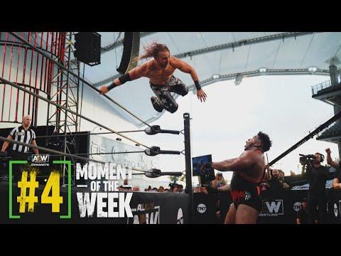 Did Hangman Outlast Powerhouse Hobbs & Team Taz?   AEW Saturday Night Dynamite, 6/26/21