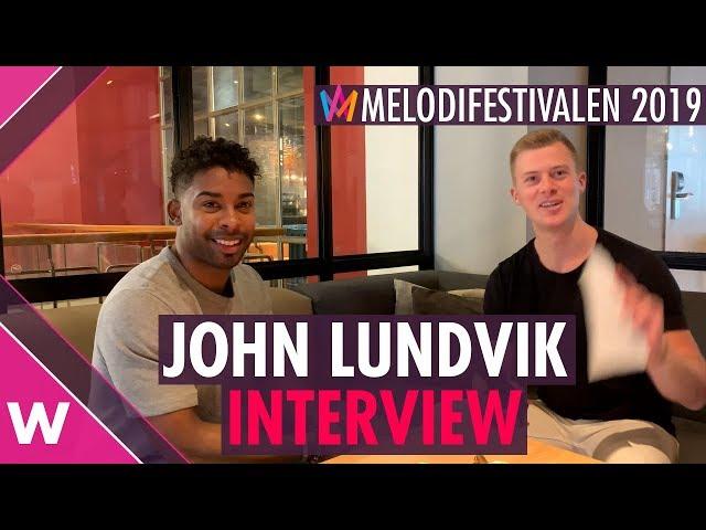 John Lundvik Interview | Melodifestivalen 2019 final