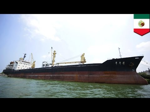 North Korea threatens Mexico for detaining its cargo ship Mu Du Bong