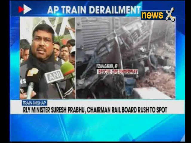 Several injured in Bhubaneswar Hirakhand Express train derailed in Andhra Pradesh
