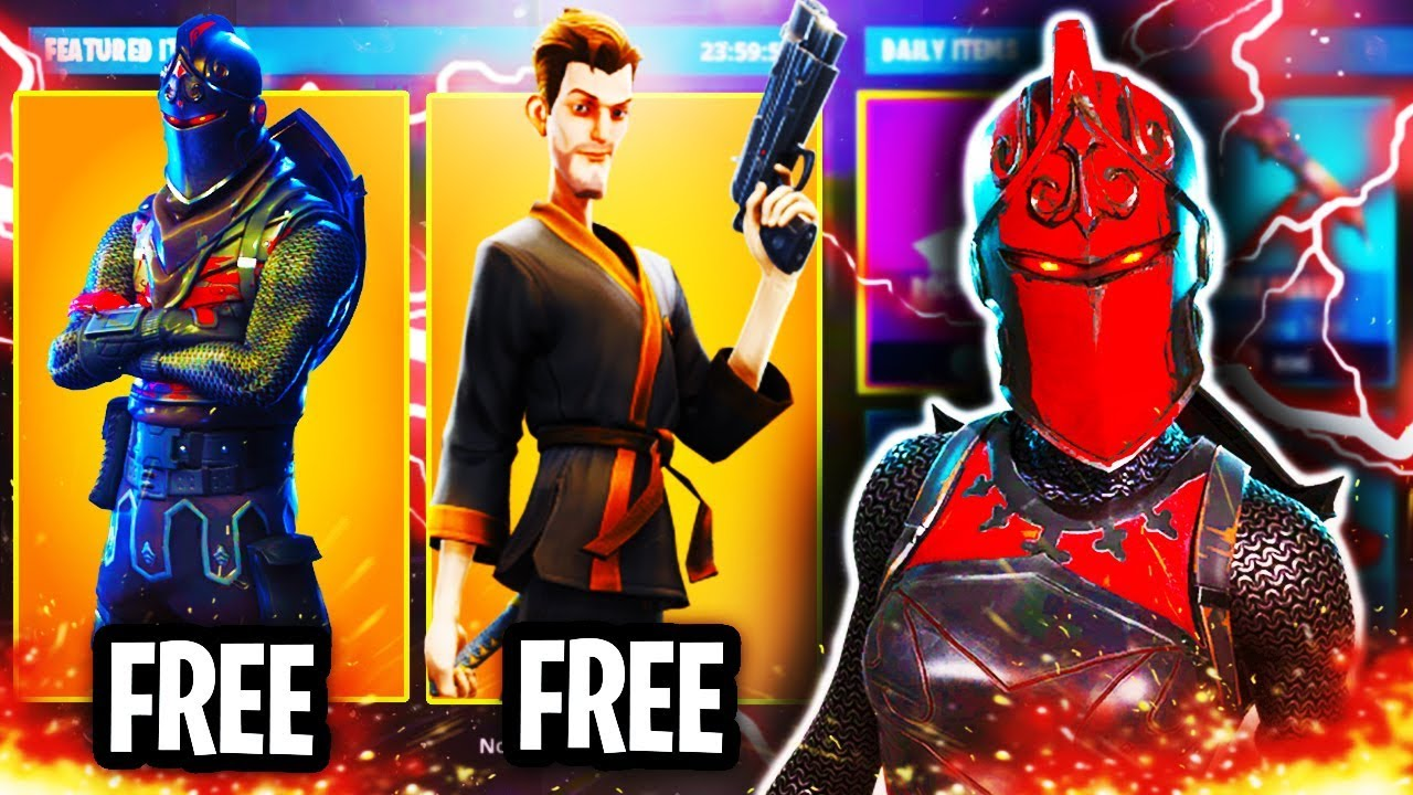 how to get free items in fortnite