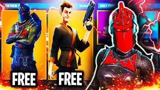 FORTNITE NEW FREE SKIN UPDATE ITEM SHOP APRIL 9TH! FORTNITE HOW TO GET NEW FREE SKINS (FREE SKINS!)