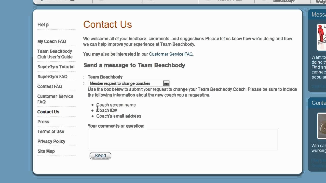 How to Change Your Beachbody Coach - YouTube