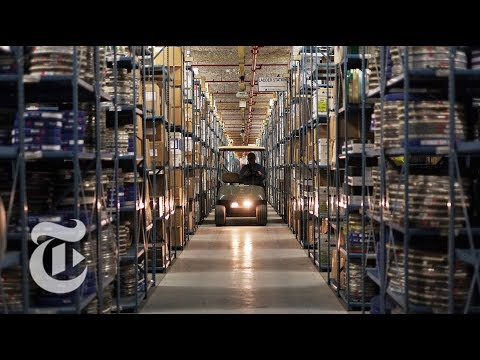 Iron Mountain Facility Provided Data Storage Before The Cloud | The Daily 360 | The New York Times