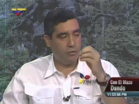 """Miguel Rodríguez Torres entrevistado por Diosdado Cabello en """"Con el Mazo Dando"""""""