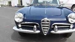 1958 Alfa Romeo Giulietta Spider Normale