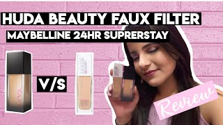 DUPE FOR HUDA BEAUTY FAUX FILTER FOUNDATION!!?? ∣ REVIEW ∣ TamannaBhagtaniMUA
