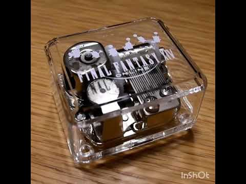 Final Fantasy XIV Concert exclusive merchandise - Night in the Brume -  music box ver